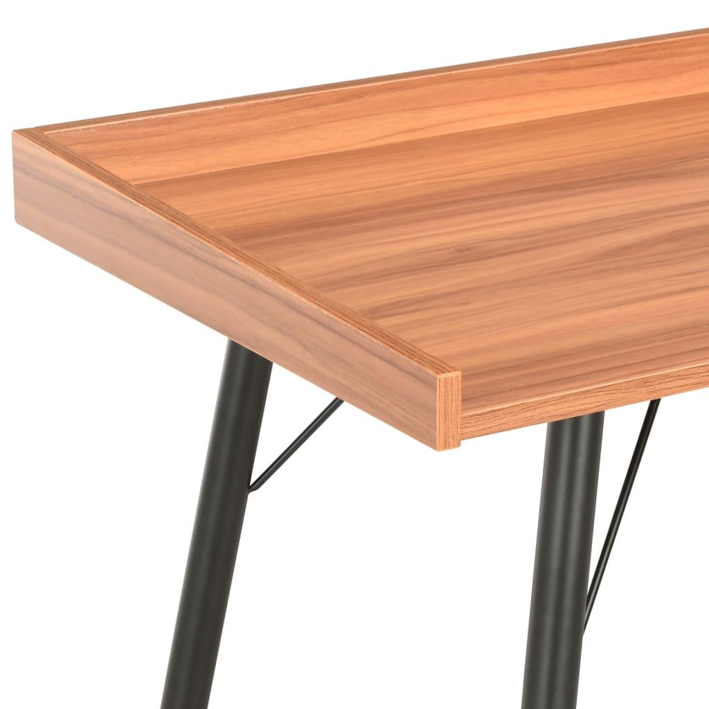 Psací stůl hnědý 90 x 50 x 79 cm