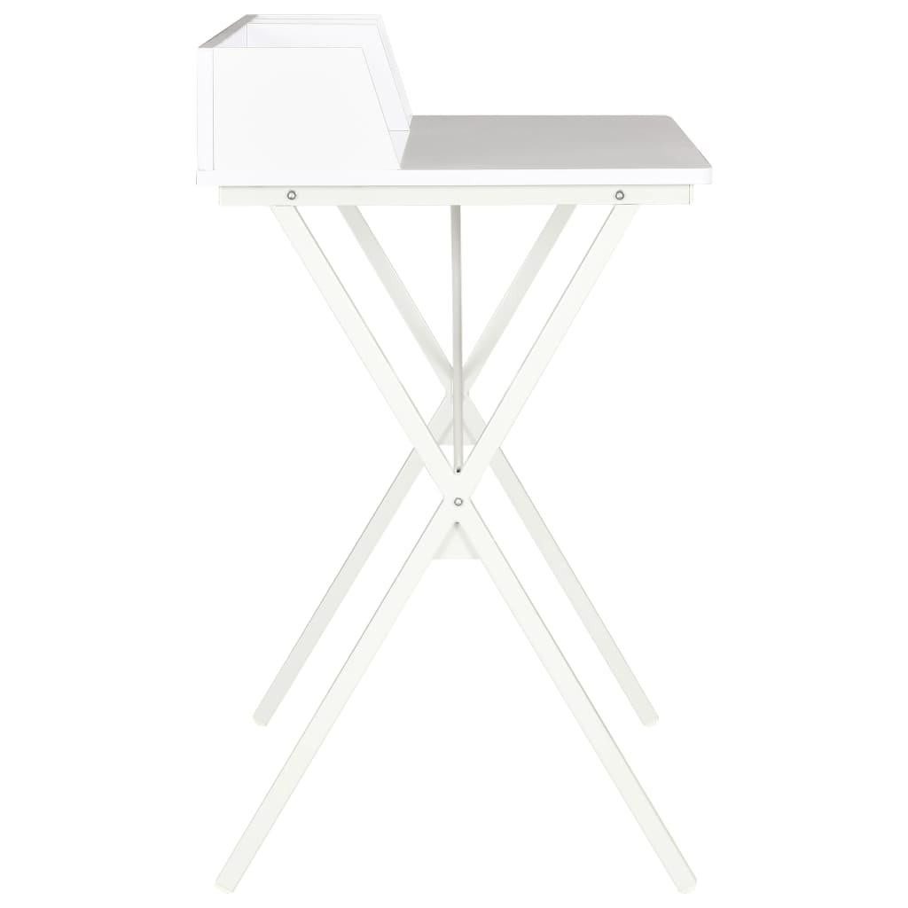 Psací stůl bílý 80 x 50 x 84 cm