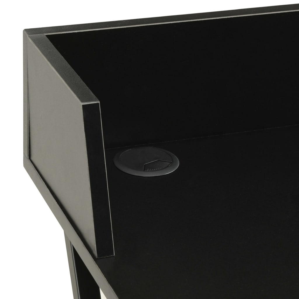 Psací stůl černý 80 x 50 x 84 cm