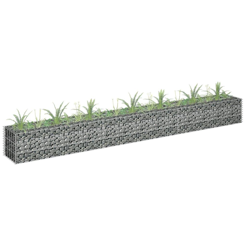 Gabioon-taimelava, tsingitud teras, 270 x 30 x 30..