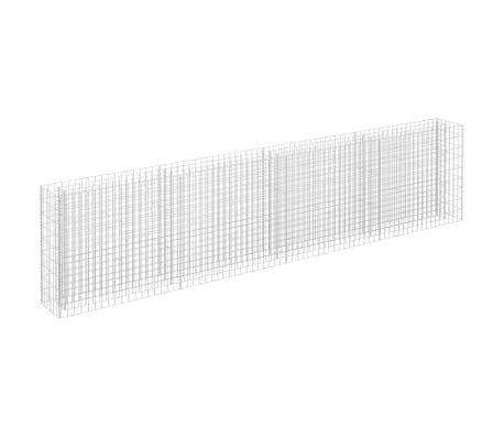 vidaXL Gabion plantenbak verhoogd 360x30x90 cm gegalvaniseerd staal
