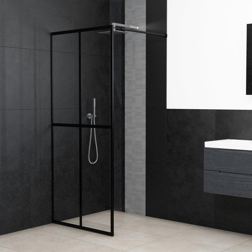 vidaXL Paravan de duș walk-in, 140 x 195 cm, sticlă securizată poza vidaxl.ro