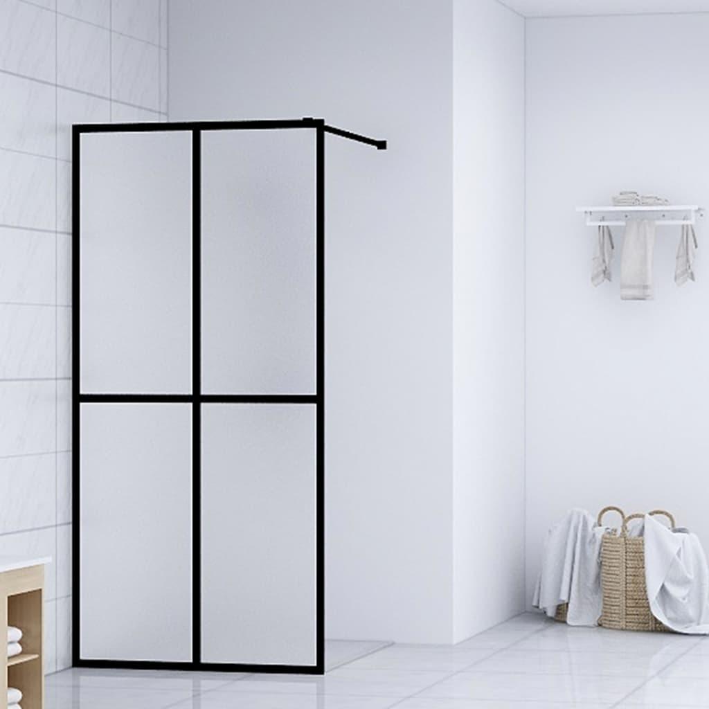 vidaXL Paravan de duș walk-in, 90 x 195 cm, sticlă securizată vidaxl.ro