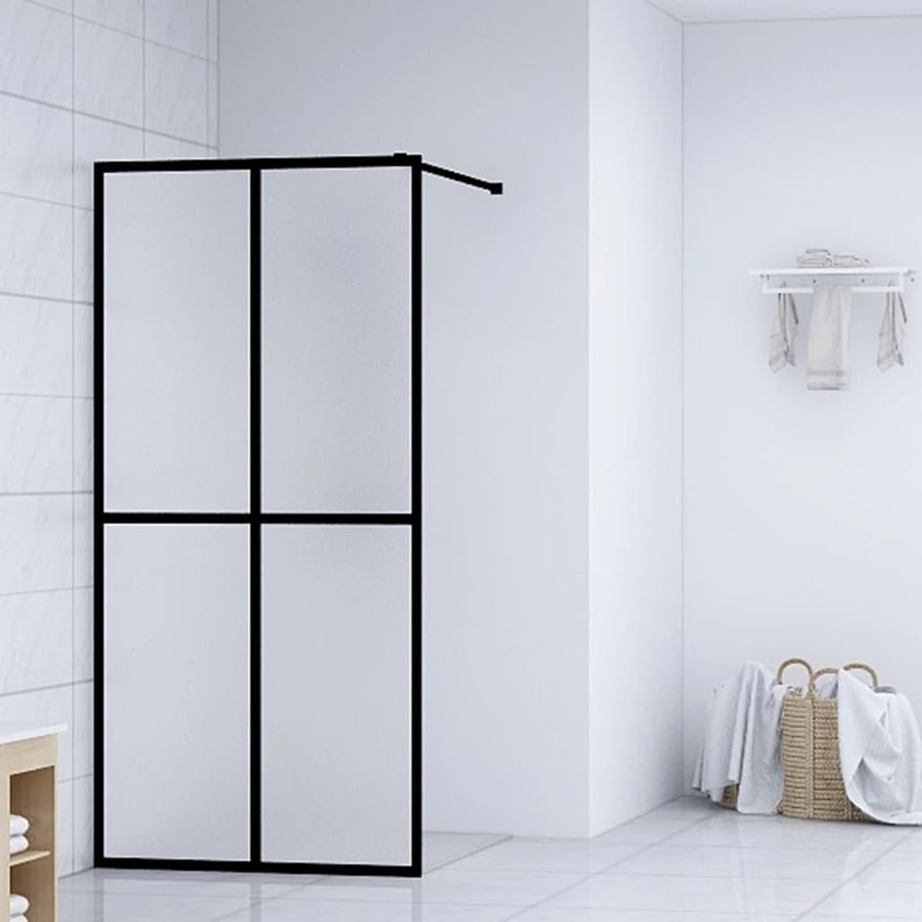 vidaXL Paravan de duș walk-in, 118 x 190 cm, sticlă securizată vidaxl.ro
