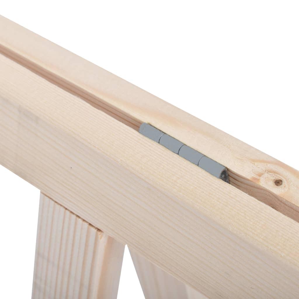 vidaXL Zaagbokken inklapbaar 2 st grenenhout