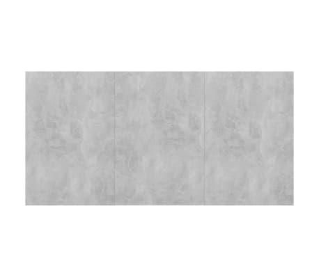 "vidaXL Dining Table Concrete Gray 70.8""x35.4""x29.9"" Chipboard[6/6]"