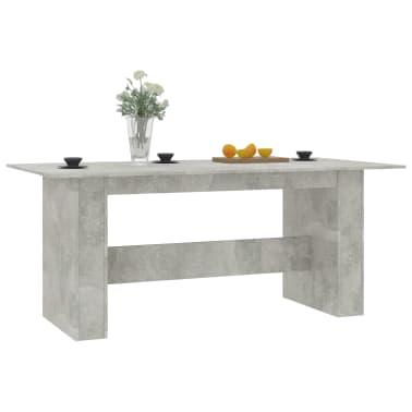 "vidaXL Dining Table Concrete Gray 70.8""x35.4""x29.9"" Chipboard[3/6]"