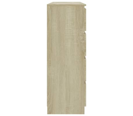 vidaXL Buffet Chêne sonoma 140 x 35 x 99 cm Aggloméré[5/6]
