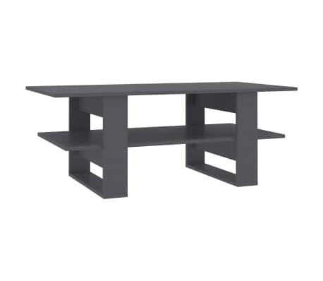 vidaXL Konferenční stolek šedý 110 x 55 x 42 cm dřevotříska