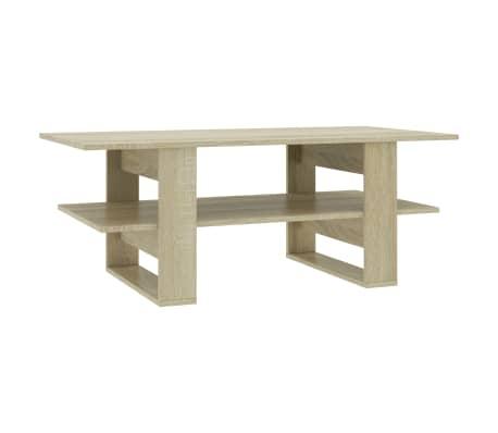vidaXL Konferenční stolek dub sonoma 110 x 55 x 42 cm dřevotříska