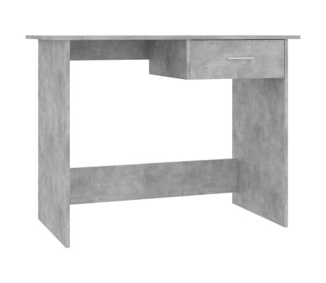 "vidaXL Desk Concrete Gray 39.4""x19.7""x29.9"" Chipboard[2/6]"