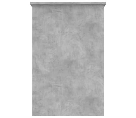"vidaXL Desk Concrete Gray 39.4""x19.7""x29.9"" Chipboard[5/6]"