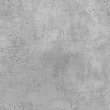"vidaXL Desk Concrete Gray 39.4""x19.7""x29.9"" Chipboard[6/6]"