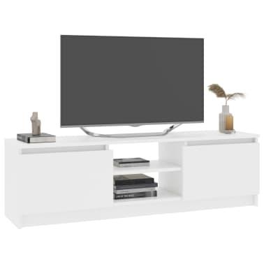 "vidaXL TV Cabinet White 47.2""x11.8""x13.9"" Chipboard[3/6]"