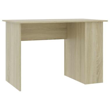 "vidaXL Desk Sonoma Oak 43.3""x23.6""x28.7"" Chipboard[2/6]"