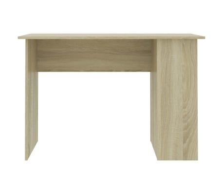 "vidaXL Desk Sonoma Oak 43.3""x23.6""x28.7"" Chipboard[4/6]"