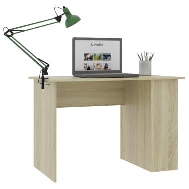 "vidaXL Desk Sonoma Oak 43.3""x23.6""x28.7"" Chipboard[3/6]"