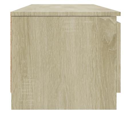 "vidaXL TV Cabinet Sonoma Oak 55.1""x15.7""x13.9"" Chipboard[5/6]"