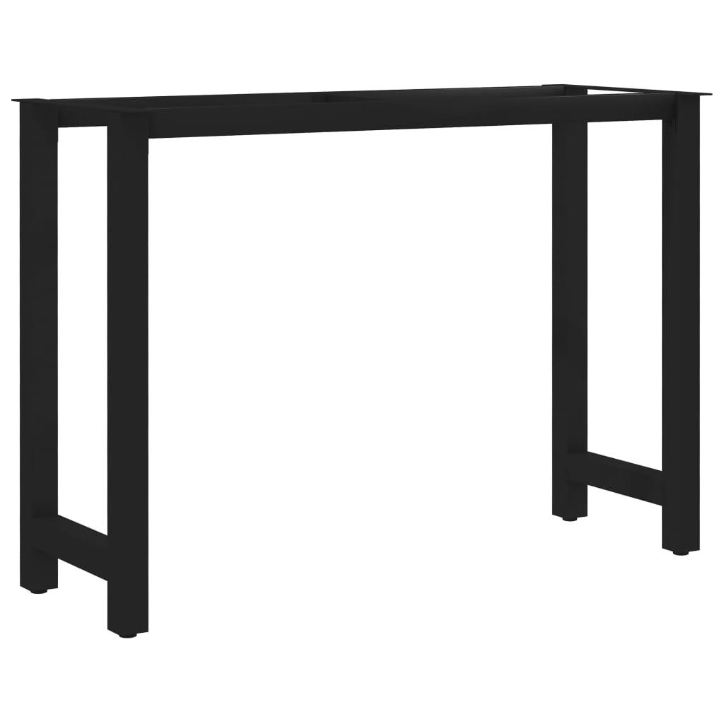 vidaXL Picioare de masă cu cadru în formă de H, 120 x 50 x 72 cm poza 2021 vidaXL