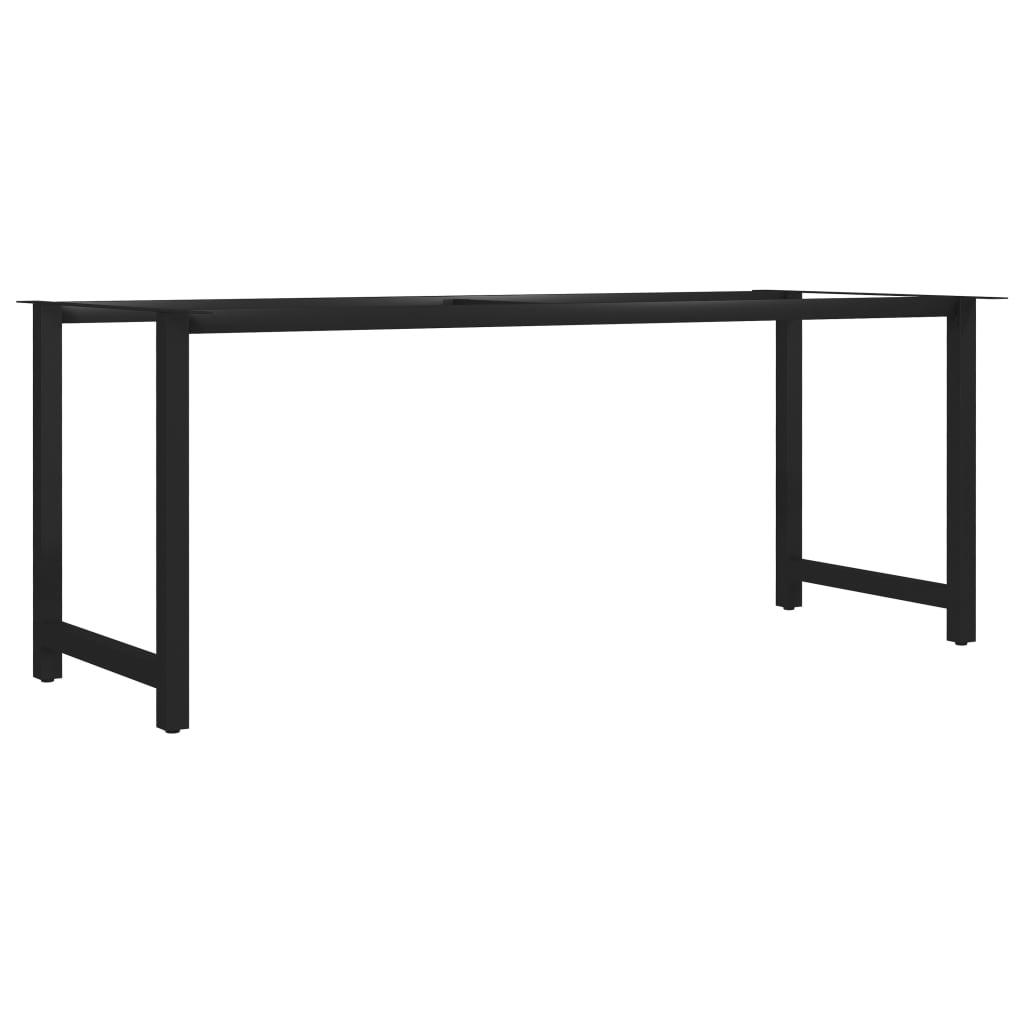 vidaXL Picioare de masă cu cadru în formă de H, 180 x 80 x 72 cm poza 2021 vidaXL