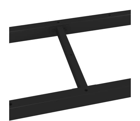 vidaXL Pied en H de table de salle à manger 200x80x72 cm[5/6]