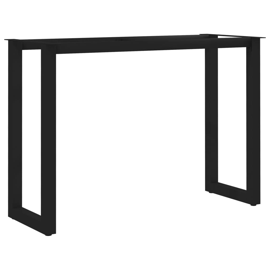 vidaXL Picioare de masă cu cadru în formă de O, 120 x 50 x 72 cm imagine vidaxl.ro