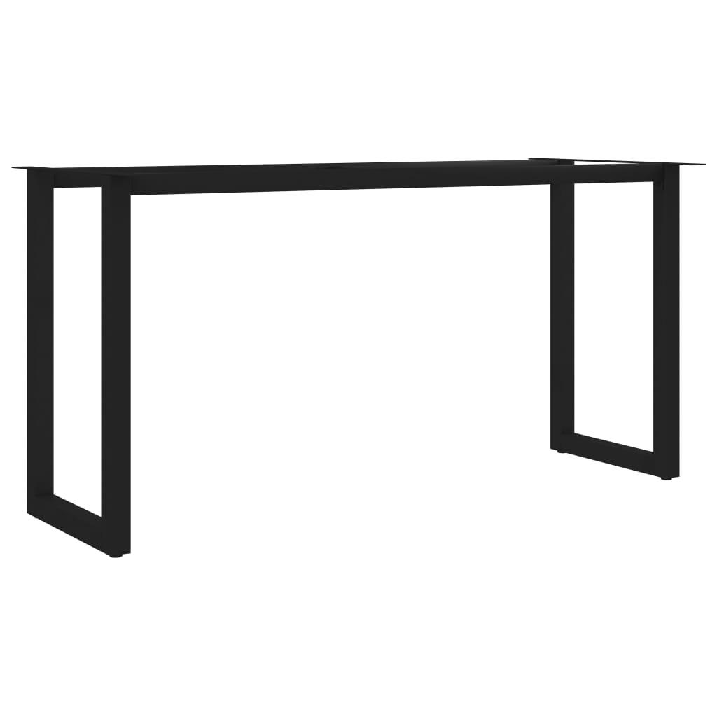 vidaXL Picioare de masă cu cadru în formă de O, 140 x 60 x 72 cm poza 2021 vidaXL