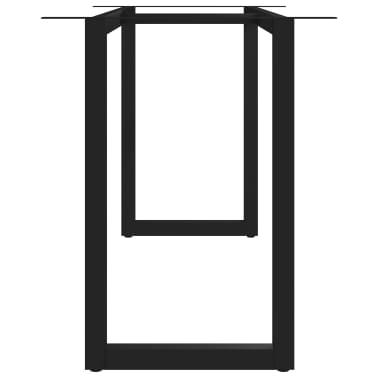 vidaXL Pied en O de table de salle à manger 160x70x72 cm[3/6]
