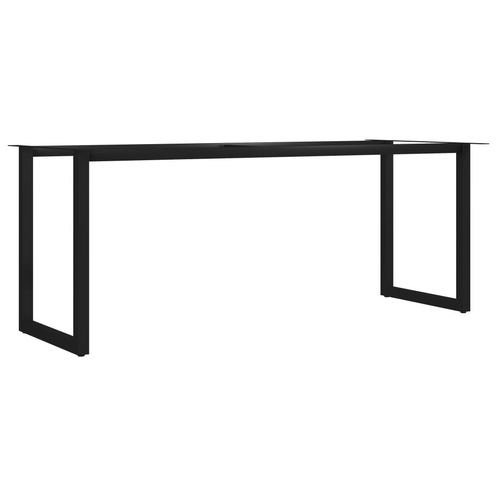 vidaXL Picioare de masă cu cadru în formă de O, 200 x 80 x 72 cm poza 2021 vidaXL