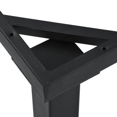 vidaXL Pied en I de table de salle à manger 120x50x72 cm[4/6]