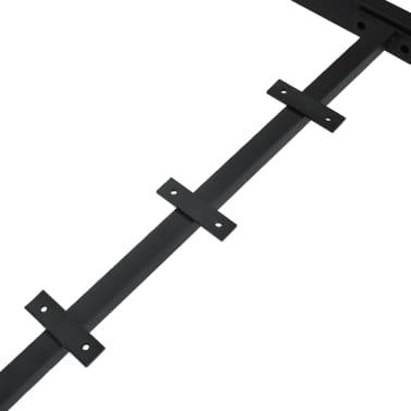 vidaXL Pied en I de table de salle à manger 120x50x72 cm[5/6]