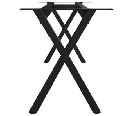 vidaXL Pied en X de banc 105x36x42 cm[3/6]