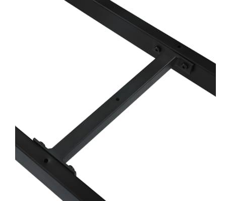 vidaXL Pied en X de banc 145x36x42 cm[5/6]