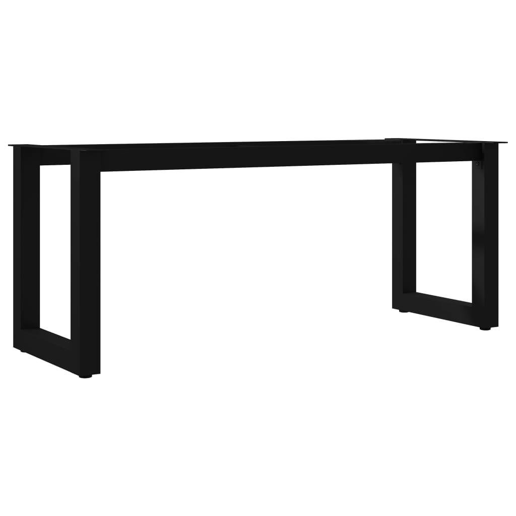 vidaXL Picioare de bancă cu cadru în formă de O, 105 x 36 x 42 cm vidaxl.ro