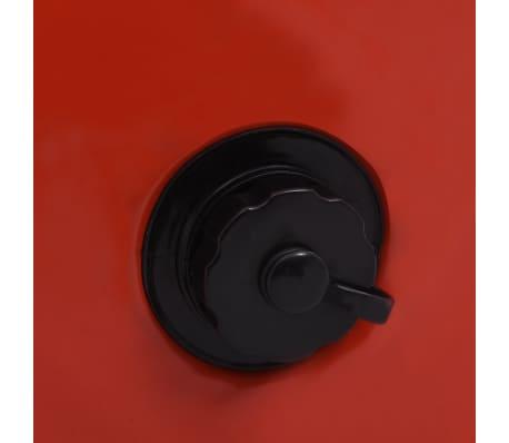 vidaXL Piscine pliable pour chiens Rouge 80x20 cm PVC[8/9]