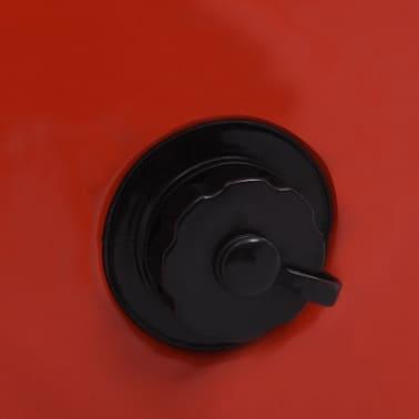 vidaXL Piscine pliable pour chiens Rouge 120x30 cm PVC[8/9]