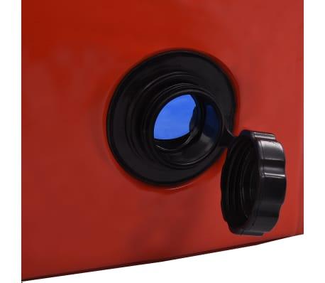 vidaXL Piscine pliable pour chiens Rouge 160x30 cm PVC[6/9]