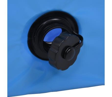 vidaXL Piscine pliable pour chiens Bleu 120x30 cm PVC[7/9]