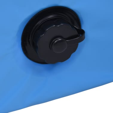 vidaXL Piscine pliable pour chiens Bleu 120x30 cm PVC[8/9]