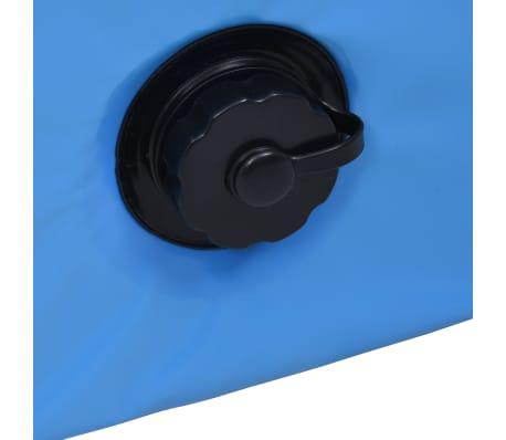 vidaXL Piscine pliable pour chiens Bleu 160x30 cm PVC[7/8]