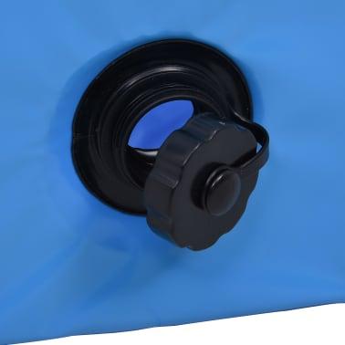 vidaXL Piscine pliable pour chiens Bleu 160x30 cm PVC[6/8]