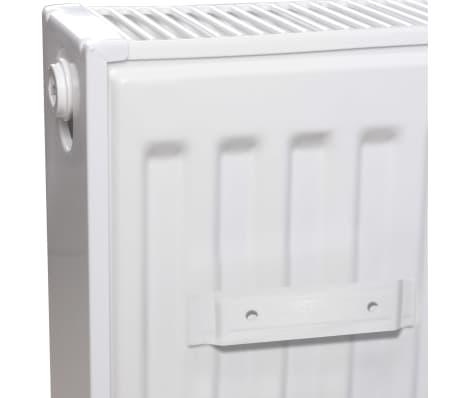 vidaXL Värmeelement sidomonterat 4 st 120x10x60 cm[3/7]
