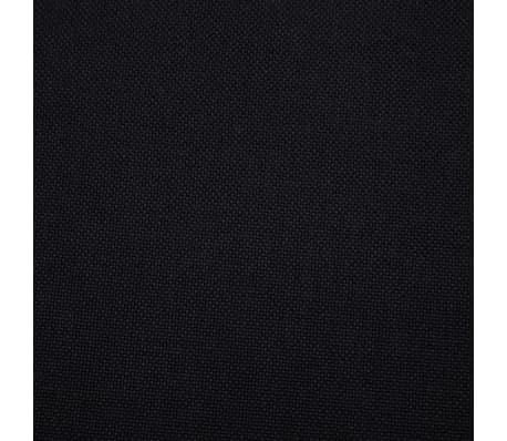 vidaXL Sofa Bed Black Fabric[9/10]