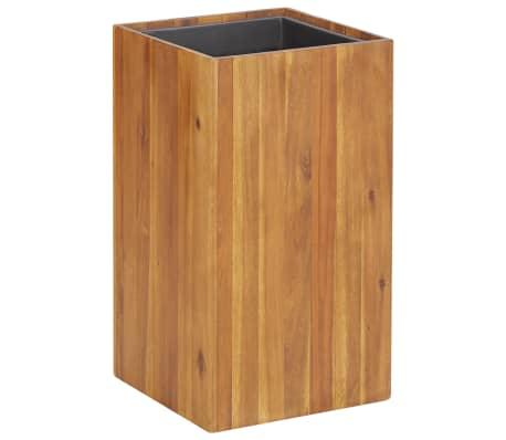 "vidaXL Garden Raised Bed 13.2""x13.2""x23.6"" Solid Acacia Wood"