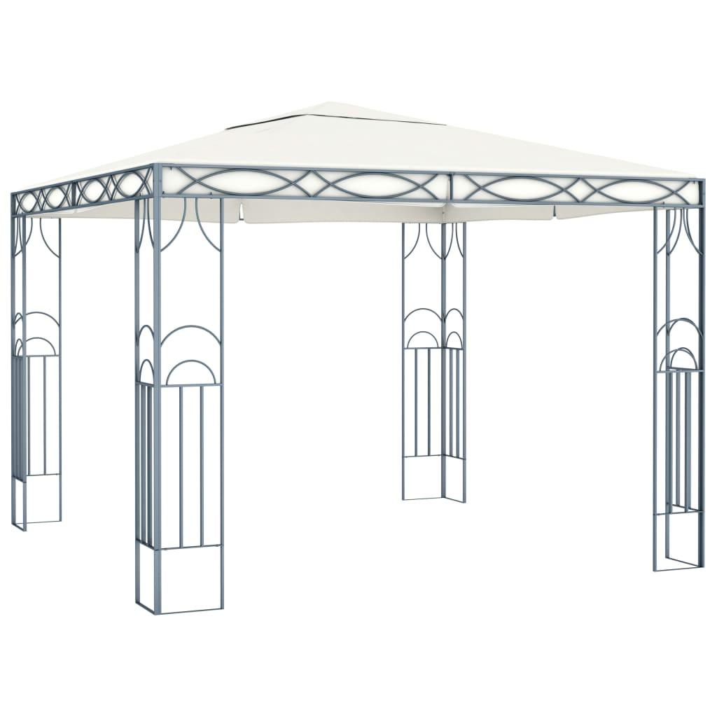 vidaXL Pavilion, crem, 300 x 300 cm vidaxl.ro