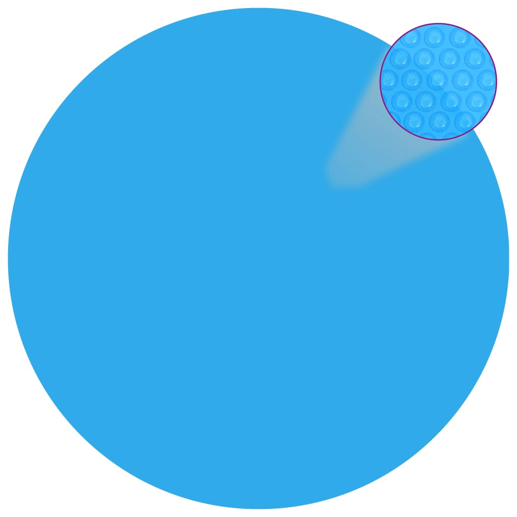 Kryt na bazén modrý 417 cm PE