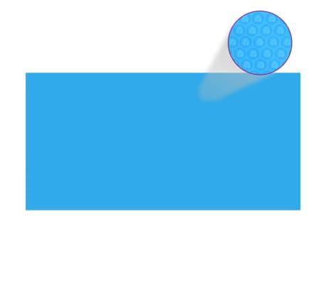 vidaXL Baseino uždangalas, mėlynos spalvos, 975x488cm, PE