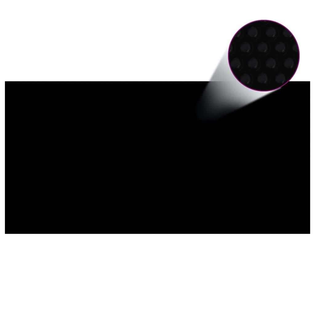 Basseinikate, must, 732 x 366 cm, PE
