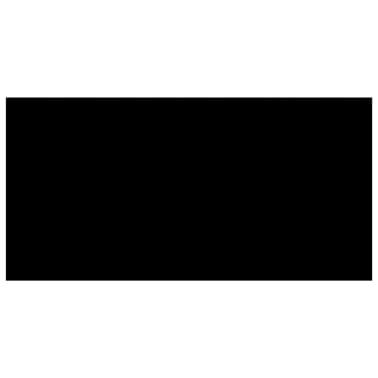 vidaXL Baseino uždangalas, juodos spalvos, 732x366cm, PE[2/4]