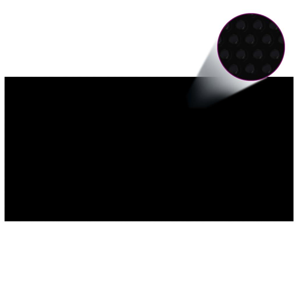 Basseinikate, must, 600 x 300 cm, PE